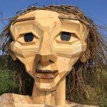 ساخت مجسمه با چوب های بازیافتی که بسیار تماشایی هستند+تصاویر