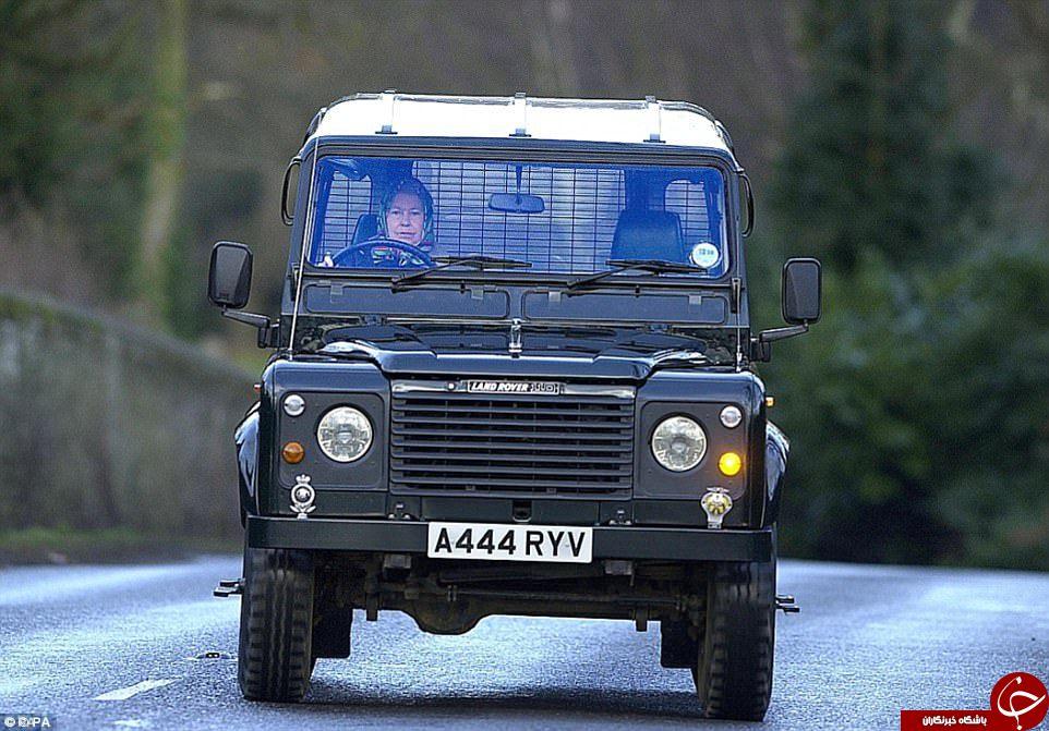 ماشین شخصی ملکه انگلیس