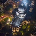شهر لندن پایتخت انگلستان را در هنگام شب ببینید!