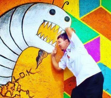 رنگ آمیزی یک دهکده نامرتب و ایجاد مناظر دیدنی در اندونزی!