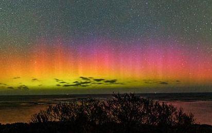 عکسهای آسمان شگفت انگیز استرالیا را ببینید!