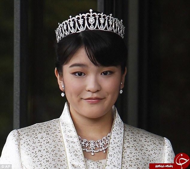 ازدواج دختر امپراتور ژاپن با یک کارگر