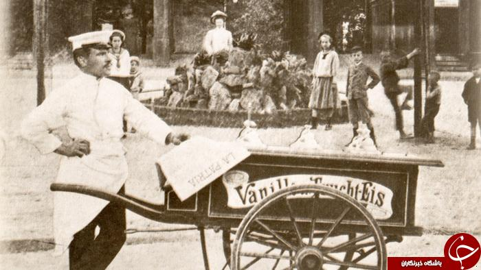 تاریخچه بستنی چوبی