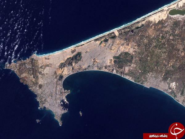 نماهایی جالب از فرودگاه های سراسر جهان از فضا!