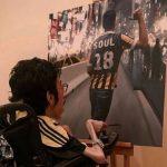 نقاشی های باورنکردنی یک پسر معلول عربستانی را ببینید!