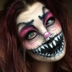 دختر هنرمند 19 ساله با گریم های فوق العاده جالب!