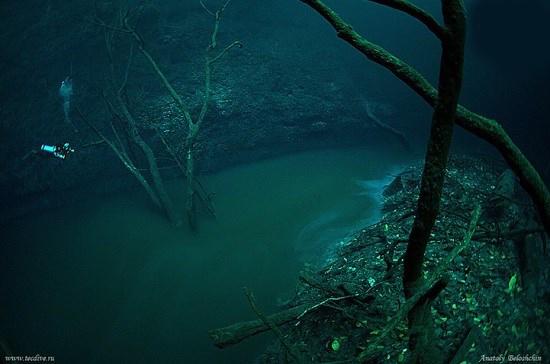 رودخانه زیر آبی