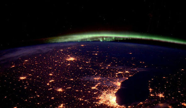 تصاویر فضایی از زمین که توسط فضانورد آمریکایی ثبت شده اند!