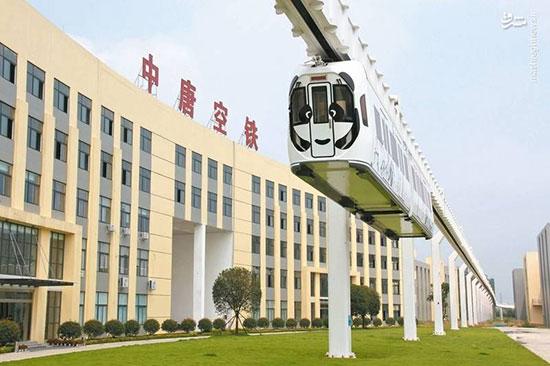 قطار هوایی چین با قابلیت انتقال حداکثر ۱۴۴ مسافر راه اندازی شد!
