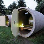 طراحی یک هتل در لوله های فاضلاب در اتریش!
