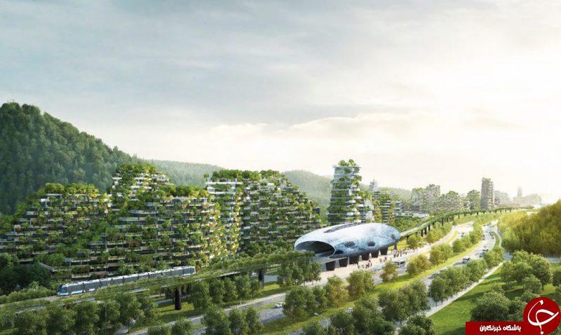 نخستین شهر جنگلی جهان در چین ساخته می شود!