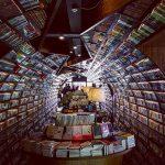 بزرگترین کتابفروشی و کتابخانه تونلی جهان!