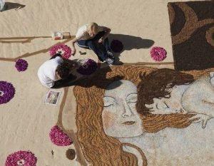 فستیوال فرش های گل بسیار دیدنی در کشور ایتالیا!