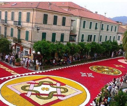 فستیوال فرش های گل