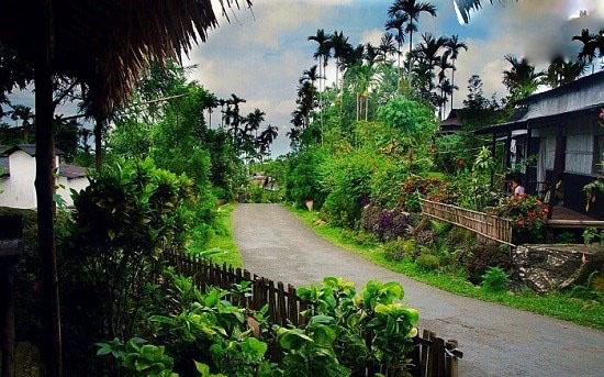 پاکیزه ترین روستای آسیا را ببینید!