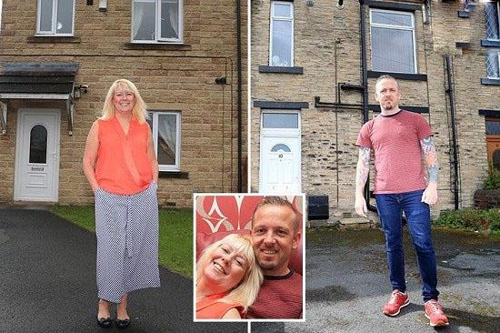 زوجی که در خانه های جداگانه ای از هم زندگی می کنند!