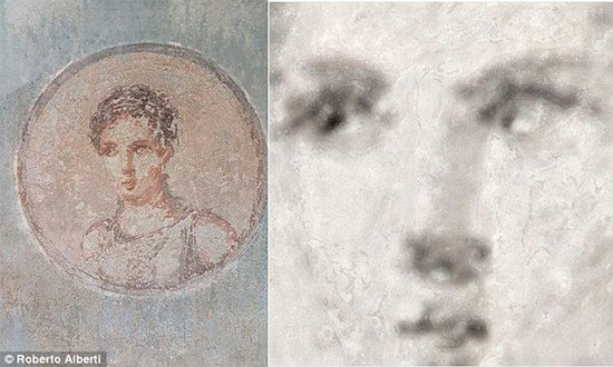 پرتره زن زیبای 2 هزار ساله