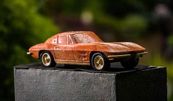 مجسمه های فوق العاده دیدنی خودرو که از سنگ ساخته شده اند!