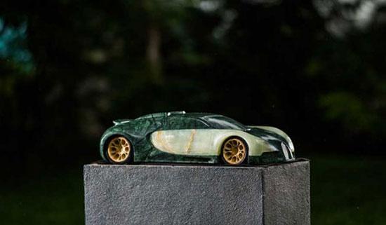 مجسمه های سنگی خودرو