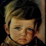 داستان جالب پسر گریان از پرحاشیه ترین تابلوهای نقاشی جهان!