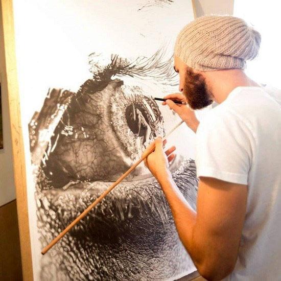 نقاشی های فوق العاده زیبا با استفاده از مداد گرافیتی!