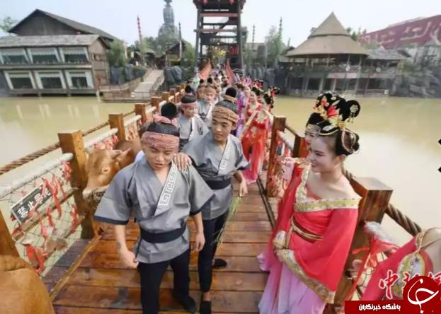 روز پاسداشت عشق در کشور چین همراه با تصاویر دیدنی!