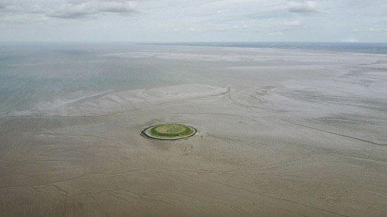 جزیره مصنوعی در انگلستان