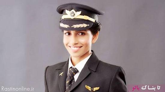جوانترین خلبان زن بویینگ