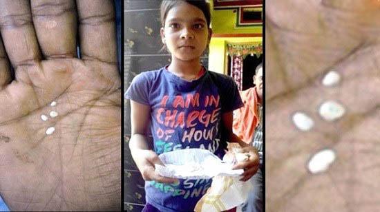 اشک های پنبه ای دختر هندی