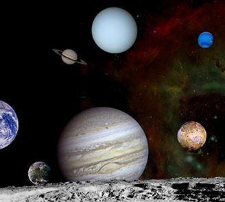 دلیل کروی بودن سیاره های منظومه شمسی را بدانید!
