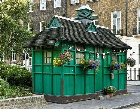 محل استراحتراننده های تاکسی در لندن