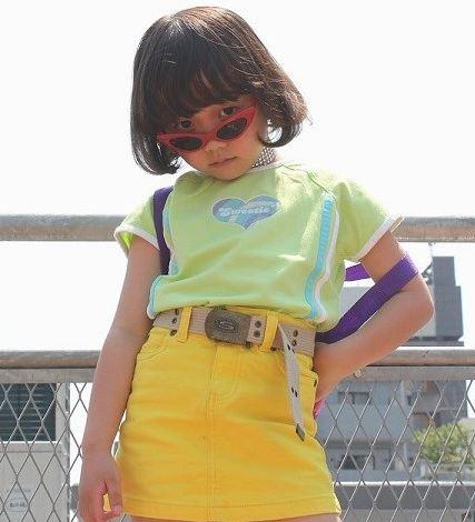 مدلینگ دختربچه ژاپنی