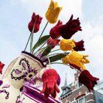 رژه گل در هلند با گل هایی غول پیکر در آغاز فصل بهار!