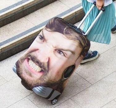 روکش هایی جالب برای چمدان که دیگر آن را گم نکنید!