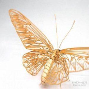 حشراتی که از بامبو به طرز عجیبی ساخته شده اند!