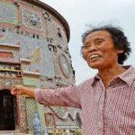 زن 86 ساله چینی که یک کاخ شخصی برای خود ساخته است!