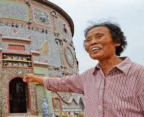 زن ۸۶ ساله چینی که یک کاخ شخصی برای خود ساخته است!