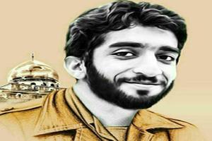 بر روی سنگ مزار شهید محسن حججی چه نوشته شده است؟!