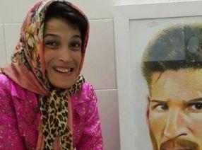 تقدیر پیج رسمی لالیگا از فاطمه حمامی دختر خلاق ایرانی!