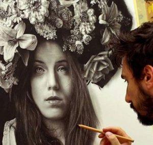 نقاشی های حیرت انگیز با زغال و گرافیت را ببینید!