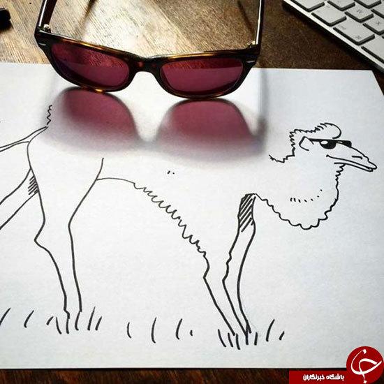 نقاشی با وسایل ساده