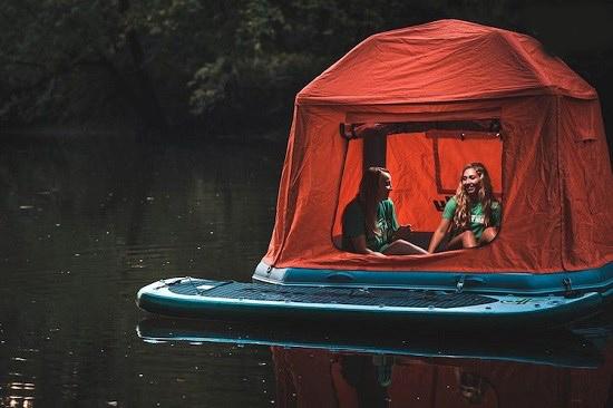 چادرهای مسافرتی شناور