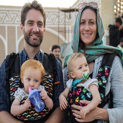 حضور گردشگران خارجی در عزاداری عاشورای حسینی!