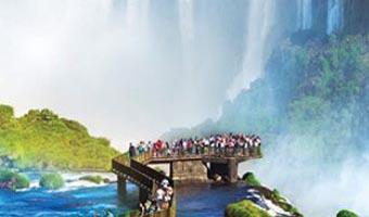 آبشارهایی که مانند نقاشی زیبا و دیدنی هستند!