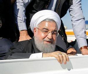 دکتر حسن روحانی به مناطق زلزله زده کرمانشاه رفت!