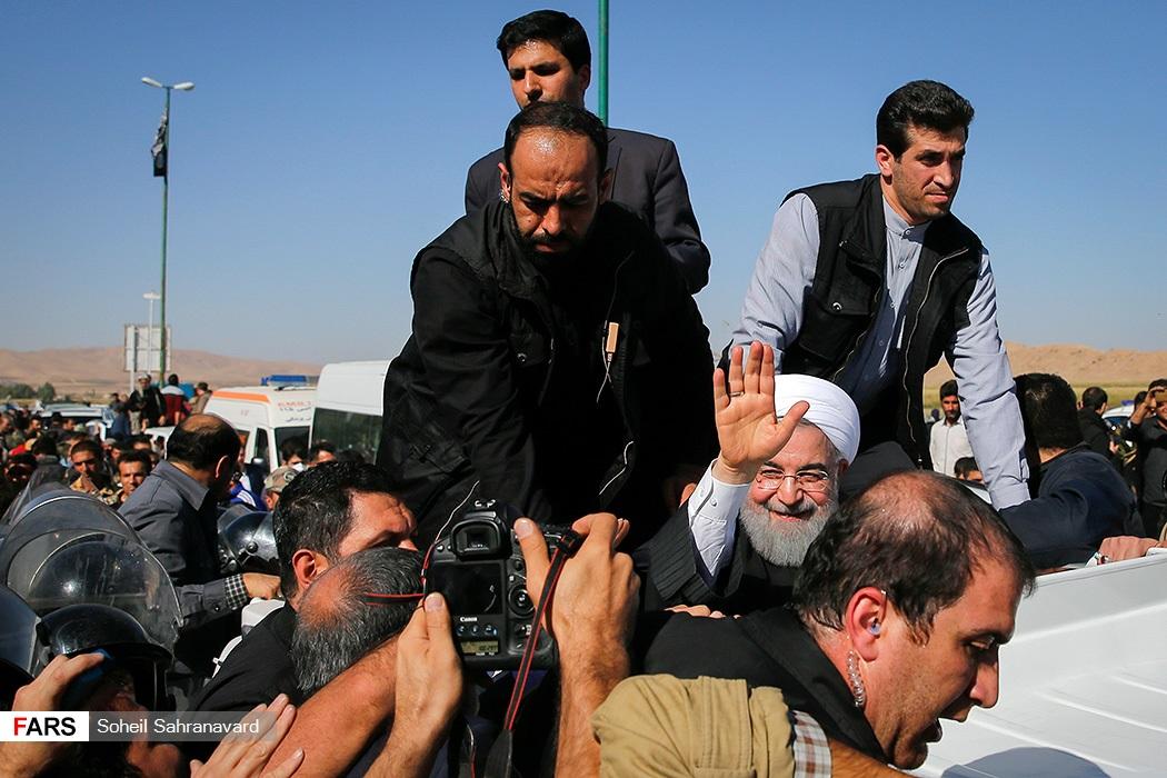حسن روحانی در کرمانشاه