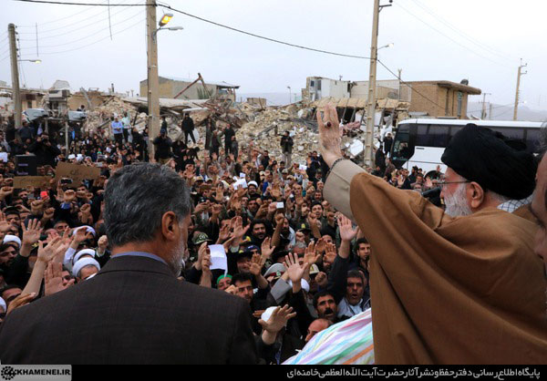 رهبر انقلاب در کرمانشاه