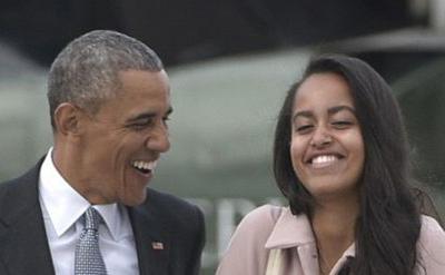 دفاع دختران رؤسای جمهور آمریکا از سیگار کشیدن دختر باراک اوباما!