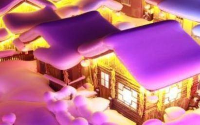 شهر مودانجیانگ یکی از جاذبه های دیدنی در زمستان!