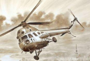 کشیدن نقاشی با استفاده از نفت خام توسط هنرمند بلاروسی!